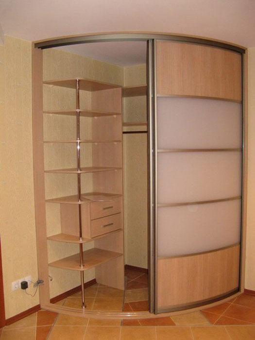 фото шкаф купе угловой в спальню