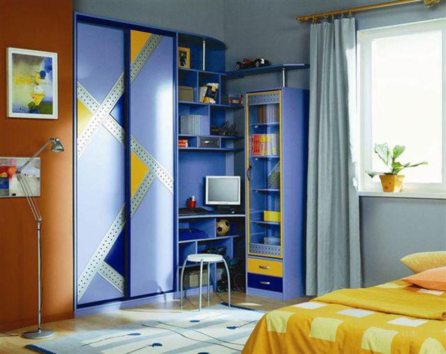 Купить шкаф-купе в детскую комнату. фото, дизайн детского шк.