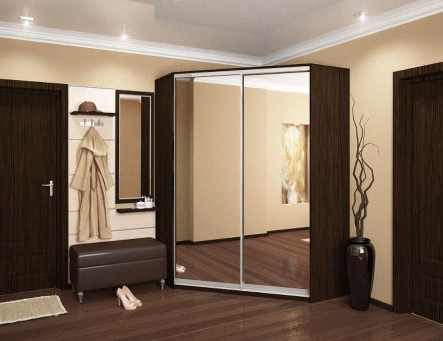 Каталог шкаф-купе угловой 2 от магазина проспект мебели.