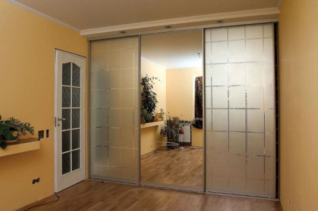 Зеркало матовое - межкомнатные двери и шкафы-купе империя дв.